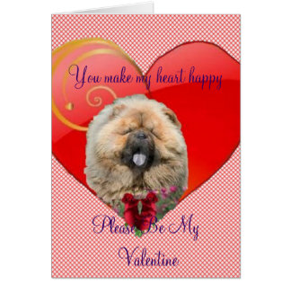 You Make my hear Happy Valentine Card