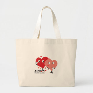 You Make My Heart Happy! Tote Bags