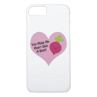 You Make My Heart Skip A Beet iPhone 7 Case