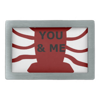 You & Me are Lobsters Belt Buckle