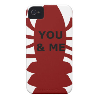 You & Me are Lobsters iPhone 4 Case