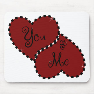 You & Me Mouse Pad