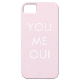 YOU ME OUI, Blush iPhone 5 Covers