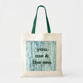 You Me The Sea Canvas Bag