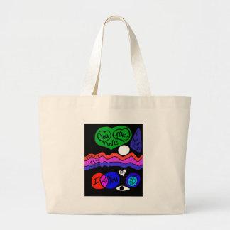 You Me We Tote Bags