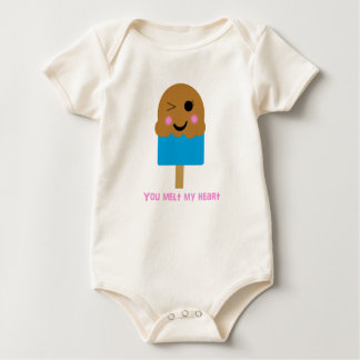 You Melt My Heart Infant Baby Bodysuit