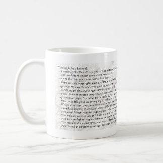 You Might Be a Birder if... Coffee Mug
