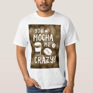 you mocha me crazy bokeh shirts