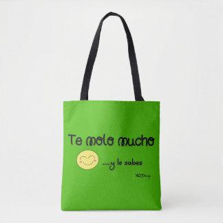 You Molo Much Stock market Tote Bag