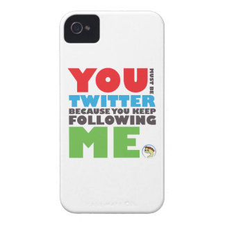 You Must Be Twitter iPhone 4/4s Case