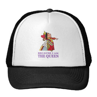 YOU MUST DO WHAT I SAY BECAUSE I AM THE QUEEN CAP