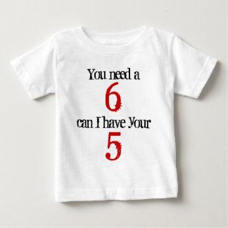 You need a 6 mobile phone tee shirt