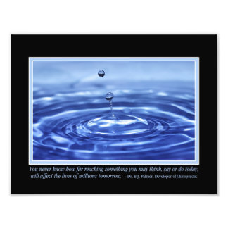 """You Never Know Palmer Quote 11"""" x 8.5"""" Photo Print"""