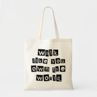 You Own The World Tote Bag