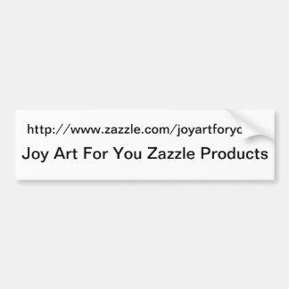 You Personalized Zazzle Sales Sticker Bumper Sticker