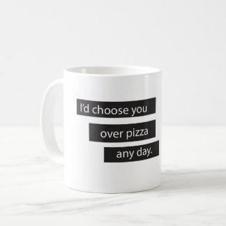 You > Pizza Mug