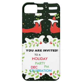 You plows invited Holiday Party Barely There iPhone 5 Case
