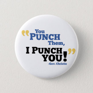 You Punch Them, I Punch You! 6 Cm Round Badge