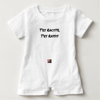 You RACIST ES, You STALE ES - Word games Baby Bodysuit
