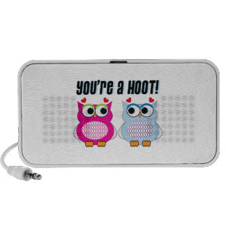 You re A Hoot iPhone Speakers