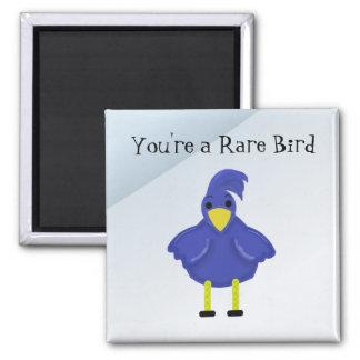 You re a Rare Bird - Blue Bird Refrigerator Magnets