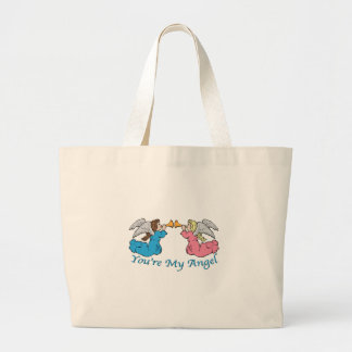 You re My Angel Canvas Bags