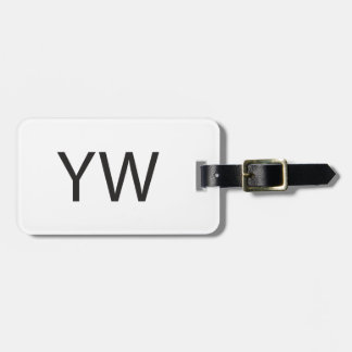 You re Welcome ai Luggage Tags