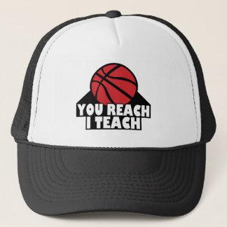 YOU REACH I TEACH CAP