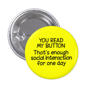 You Read My Button