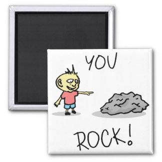 You Rock! Cartoon. Magnet