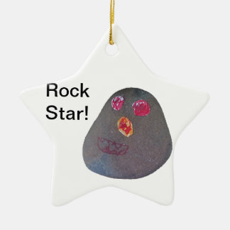 You Rock! Ceramic Star Decoration