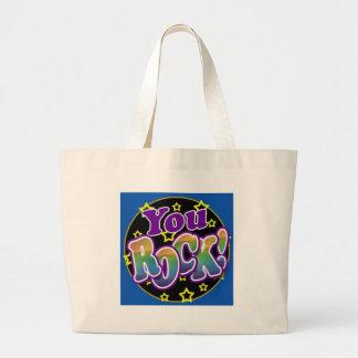 You Rock! Large Tote Bag