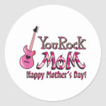 You Rock Mum T Shirt for Mother's Day Stickers