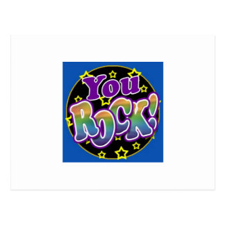 You Rock! Postcard