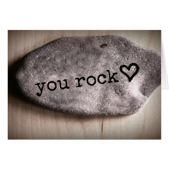You Rock Random Acts of Kindness Notecard