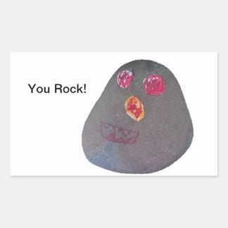 You Rock! Rectangular Sticker