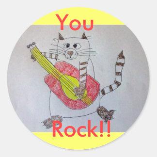 You, Rock!! Sticker