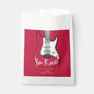 You Rock Valentine's Day Favor Bag
