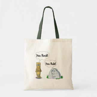 You Rock You Rule Canvas Bags