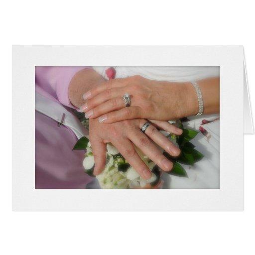 """YOU SAID """"I DO"""" CONGRATULATIONS TO BRIDE AND GROOM CARD"""