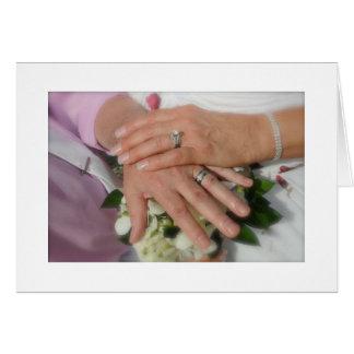 "YOU SAID ""I DO"" CONGRATULATIONS TO BRIDE AND GROOM GREETING CARD"