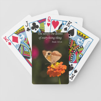 you satisfy the desires of every living thing poker deck