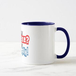 you say coffee I say guess again funny coffee mug