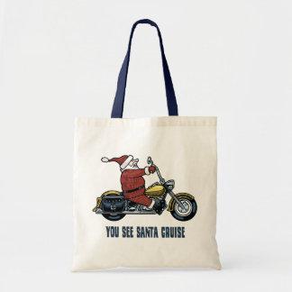 You See Santa Cruise Budget Tote Bag