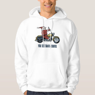 You See Santa Cruise Hooded Pullovers