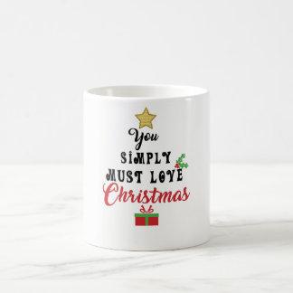 You simply must love Christmas Mug