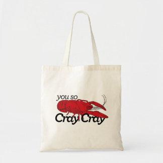 You so Cray Cray! Budget Tote Bag