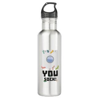 You Sock Funny Slogan Zwq53 710 Ml Water Bottle