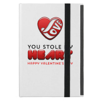You stole my heart - Happy Valentine's Day Covers For iPad Mini