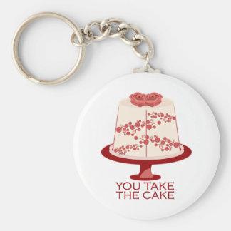 You Take The Cake Keychains
